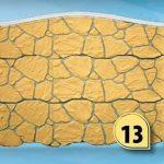 Ogrodzenie kamień polny