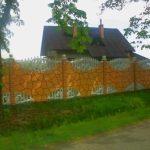 Ogrodzenie malowane