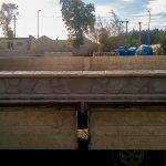 Płyta betonowa zpodwójnym okapem
